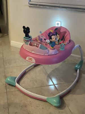 Baby walker Minnie Mouse $30 Great shape for Sale in Riverview, FL