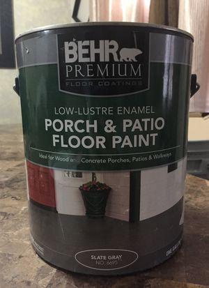 $15.00 1 gal concrete paint for Sale in Dallas, TX
