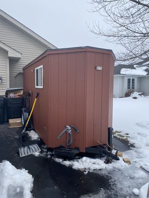Ice fishing house for Sale in Albertville, MN