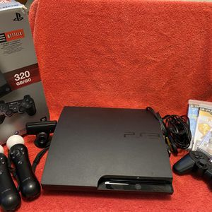 320 GB PS3 Move Bundle + Games for Sale in Beaverton, OR