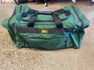 Vintage c.1990s REI Duffle Bag for Sale in Seattle, WA