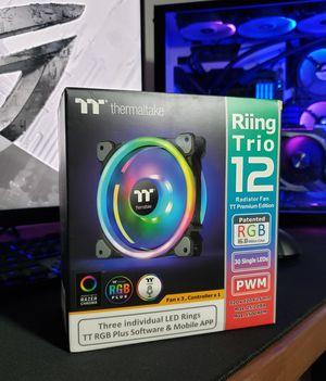 Thermaltake Ring Trio 12 Premium Edition for Sale in Los Angeles, CA