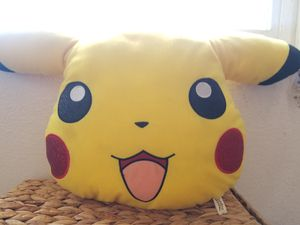Pikachu plush teddy bear/pillow for Sale in San Diego, CA