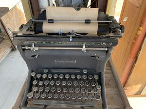 Underwood typewriter for Sale in Santa Clara, CA