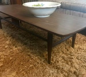 Vintage! Mid Century Hardwood/Formica Coffee Table for Sale in Cleveland, OH
