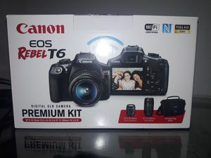 Canon EOS Rebel T6 for Sale in Manchester, MO