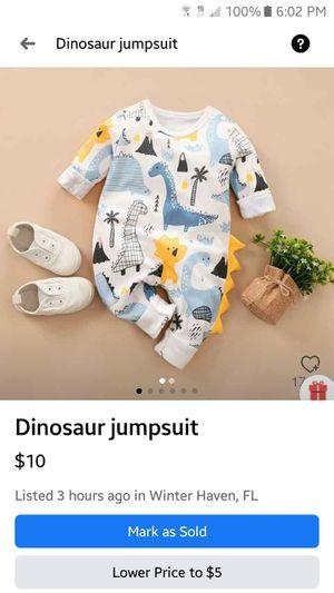 Dinosaur Jumpsuit for Sale in Winter Haven, FL
