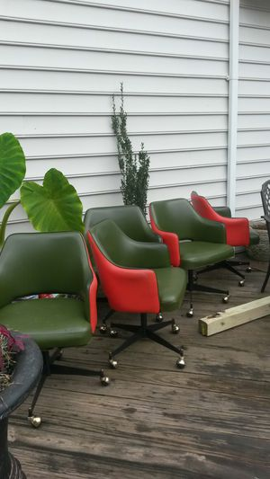 Beautiful 5 mid-century chairs for Sale in Silver Spring, MD