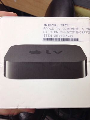 Apple TV with remote in box used for Sale in Orlando, FL