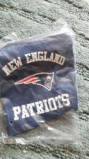New NFL New England Patriots jersey material fan bag with long strap for Sale in LaCoste, TX
