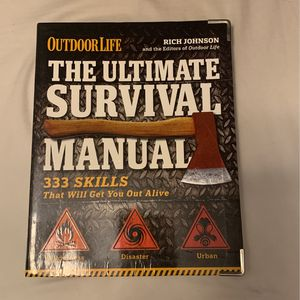 Survival Manual Book for Sale in Seattle, WA