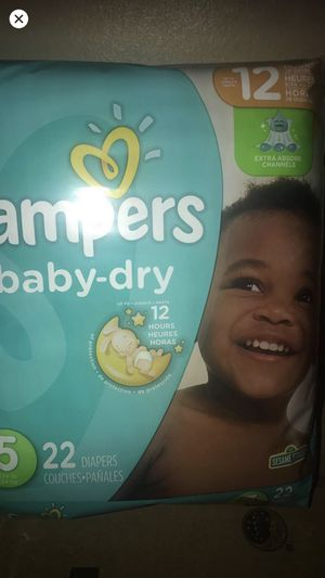 Pampers/inbox for size for Sale in Mauldin, SC