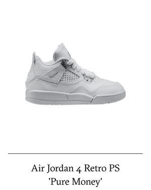Air Jordan 4 Retro/Pure Money,Size: Boys 13c for Sale in Atlanta, GA
