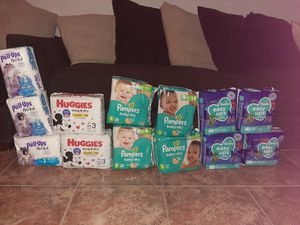 Pull up, huggies,pampers,easy ups for Sale in Houston, TX