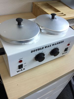 Wax Warmer Salon Beauty Waxing Heater Double Pot for Sale in Chino, CA