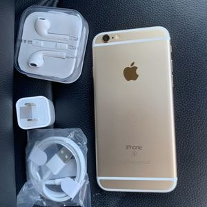 iPhone 6S, 16GB - just like new, factory unlocked, clean IMEI, clear iCloud for Sale in Springfield, VA