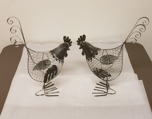 Rustic wire roosters for Sale in Millersville, MD