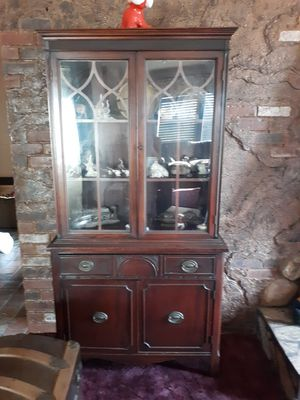 ANTIQUE CHINA CABINET, $175.00 for Sale in El Cajon, CA