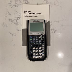 TI-84 Plus Silver Edition Graphing Calculator for Sale in Redmond, WA
