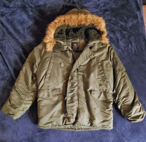 Alpha Industries Military Surplus N-3B Parka, 2XL for Sale in Silver Spring, MD