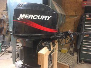 50 h/p 2 stroke mercury for Sale in Ashley, IL