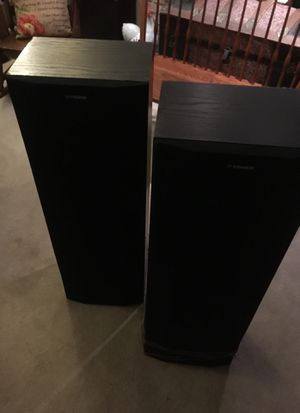 Fisher Speakers ( sold as a pair) for Sale in Naperville, IL
