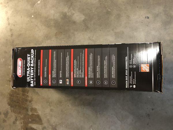 GENIE Quietlift 750 3/4 HP Belt drive Garage Door Opener + Battery Backup