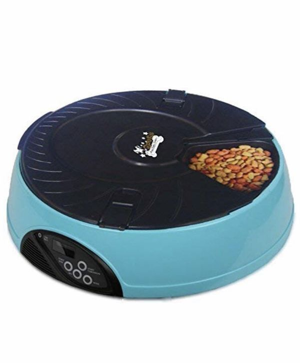 6 meal automatic pet feeder