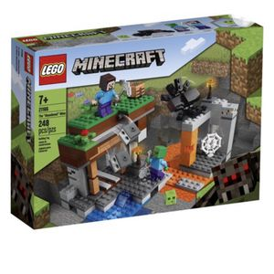 LEGO Minecraft The Abandoned Mine 21166 Zombie Cave Playset with Action Figures (248 Pieces) for Sale in Santa Maria, CA