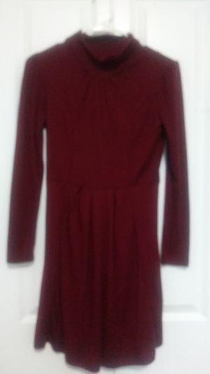 Short mid-turtle neck Burgundy Dress for Sale in BETHEL, WA