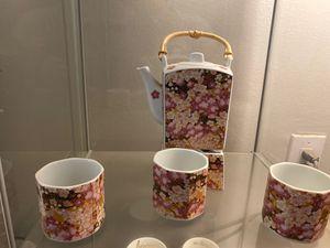 Cherry blossom tea set for Sale in Springfield, VA