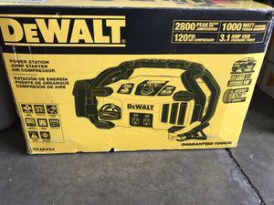 DEWALT 2800 Peak Amp Jump Starter 1000-Watt Power Inverter with Digital Compressor for Sale in Temple City, CA