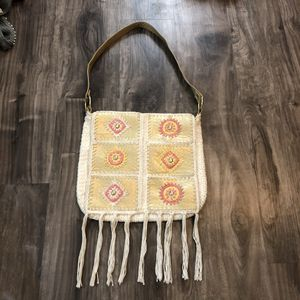 Knit Cotton Purse with fringe for Sale in Carrollton, TX