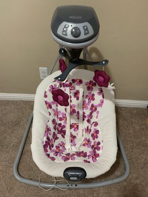 Graco infant swing plug in for Sale in Dublin, CA