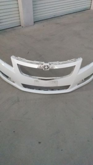 Chevrolet cruze front bumper 2011 2012 2013 2014 for Sale in Rancho Cucamonga, CA