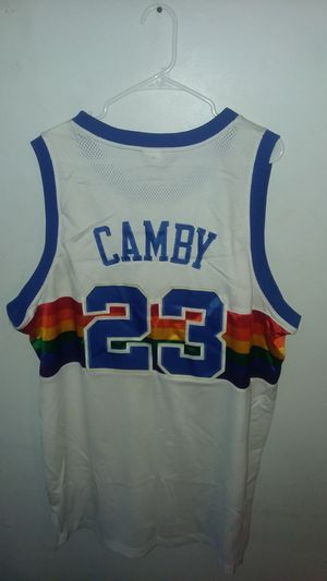 AUTHENTIC REEBOK MARCUS CAMBY JERSEY sz 52 for Sale in Suitland, MD