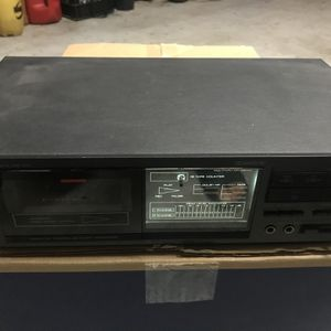 Onkyo Vintage TA-2027 single cassette tape deck with Dolby B C Nr stereo for Sale in Tampa, FL