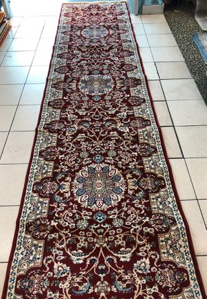 red new nice persian runner rug nain 3 x 13 for Sale for sale  Los Angeles, CA