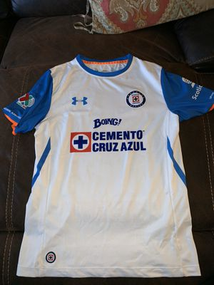Cruz Azul jersey in very good condition size with Chaco Giménez name and number size is large for Sale in Perris, CA