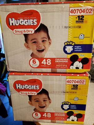 Huggies diapers for Sale in Apple Valley, MN