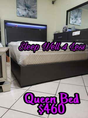 NEW💥QUEEN BED💥MATTRESS INCLUDED💥NEW💥 for Sale in Bellflower, CA