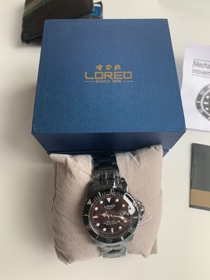 LOREO MENS SILVER STAINLESS WATCH for Sale in New York, NY