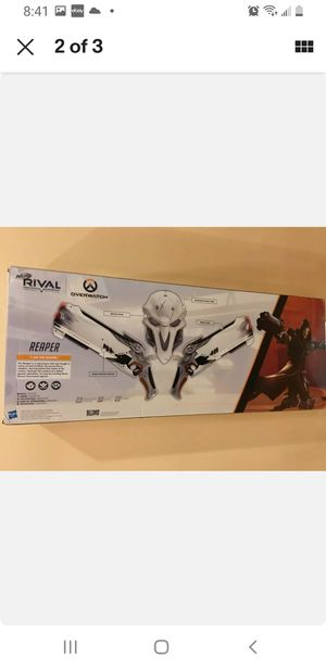 Overwatch nerf reaper for Sale in City of Industry, CA