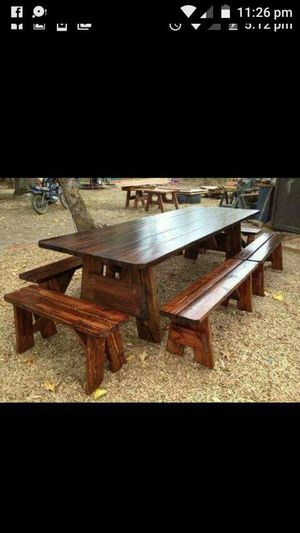 Handcrafted indoor outdoor furniture for Sale in Oregon City, OR