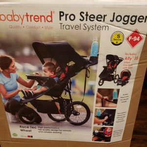 Baby Trend Pro Steer Jogger Stroller for Sale in Royse City, TX