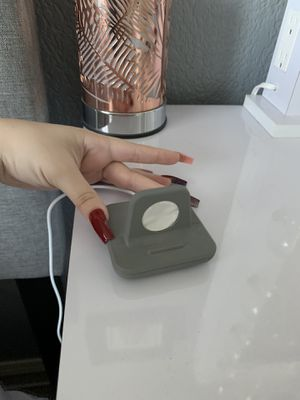 GREY CHARGING STAND FOR APPLE WATCH PENDING PICKUP for Sale in YSLETA SUR, TX
