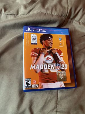 Madden 20 for Sale in Pawtucket, RI