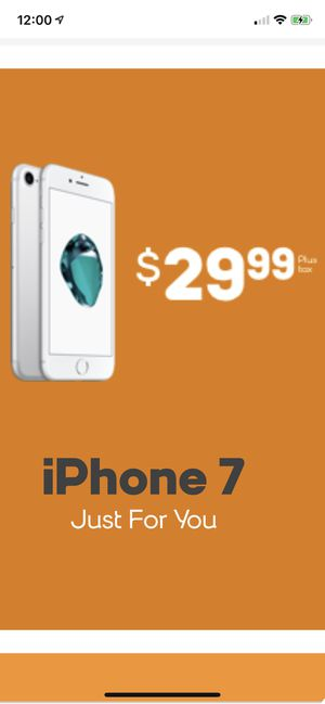 Brand New iPhone 7 for only $29.99 when you switch to Boost Mobile! for Sale in Fort Leonard Wood, MO