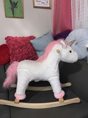 Kids rocking horse unicorn for Sale in Las Vegas, NV