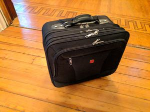 SwissGear 4 divider rolling travel briefcase for Sale in St. Louis, MO